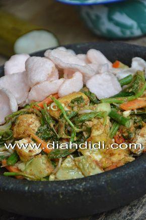Diah Didi S Kitchen Lotek Yogya Resep Masakan Makan Malam Masakan