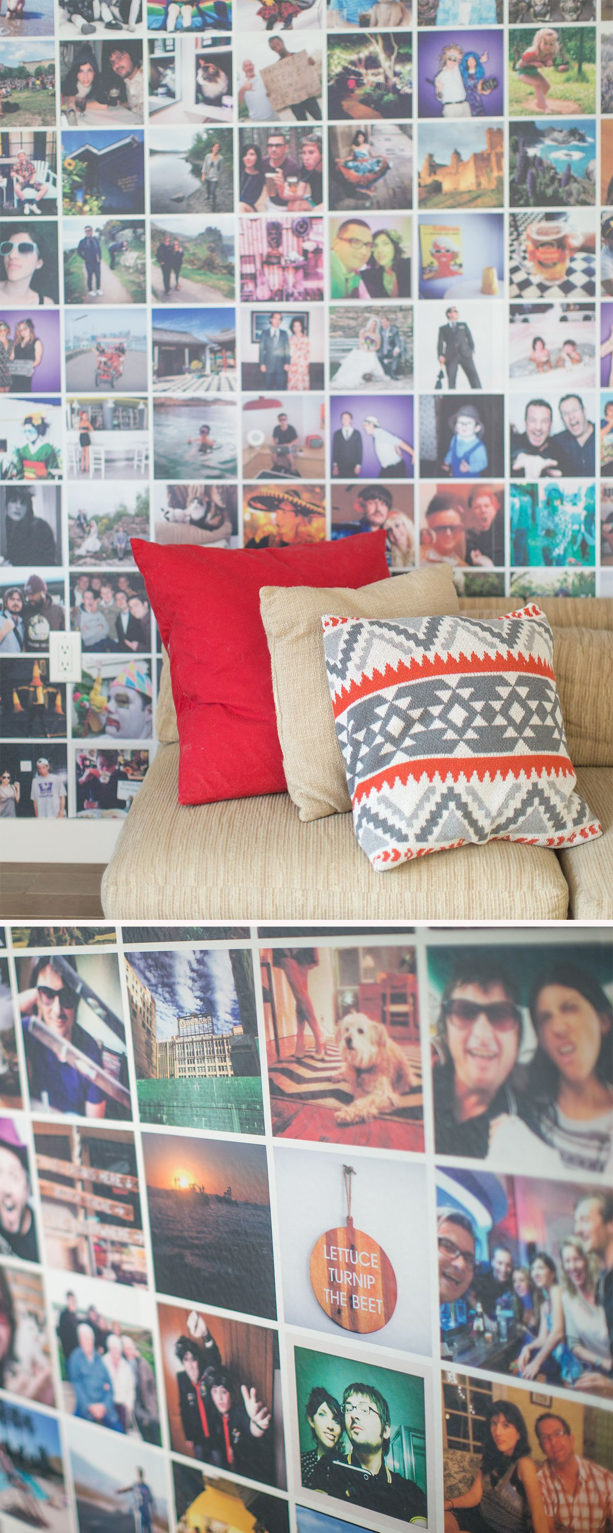 Custom Instagram Style Self Sticking Wall Mural By PicMe. Make Your Own: Part 43
