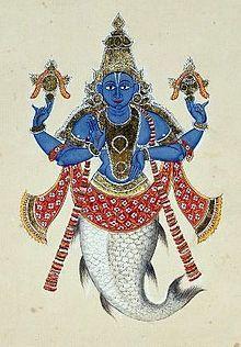 Manu Hinduism Wikipedia The Free Encyclopedia Vishnu Deities Indian Painting