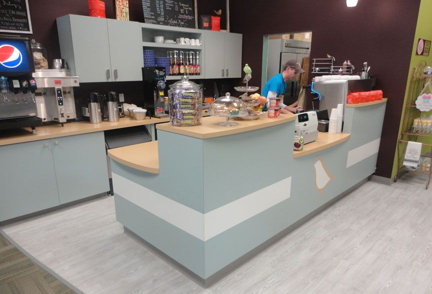 Small cafe counter designs cabinets cedar rapids