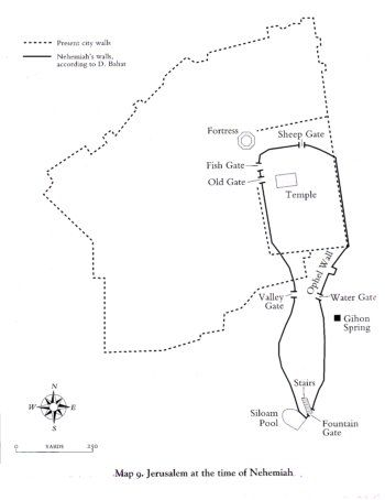 This Map Of Ancient Jerusalem Depicts The Nature Of The City During