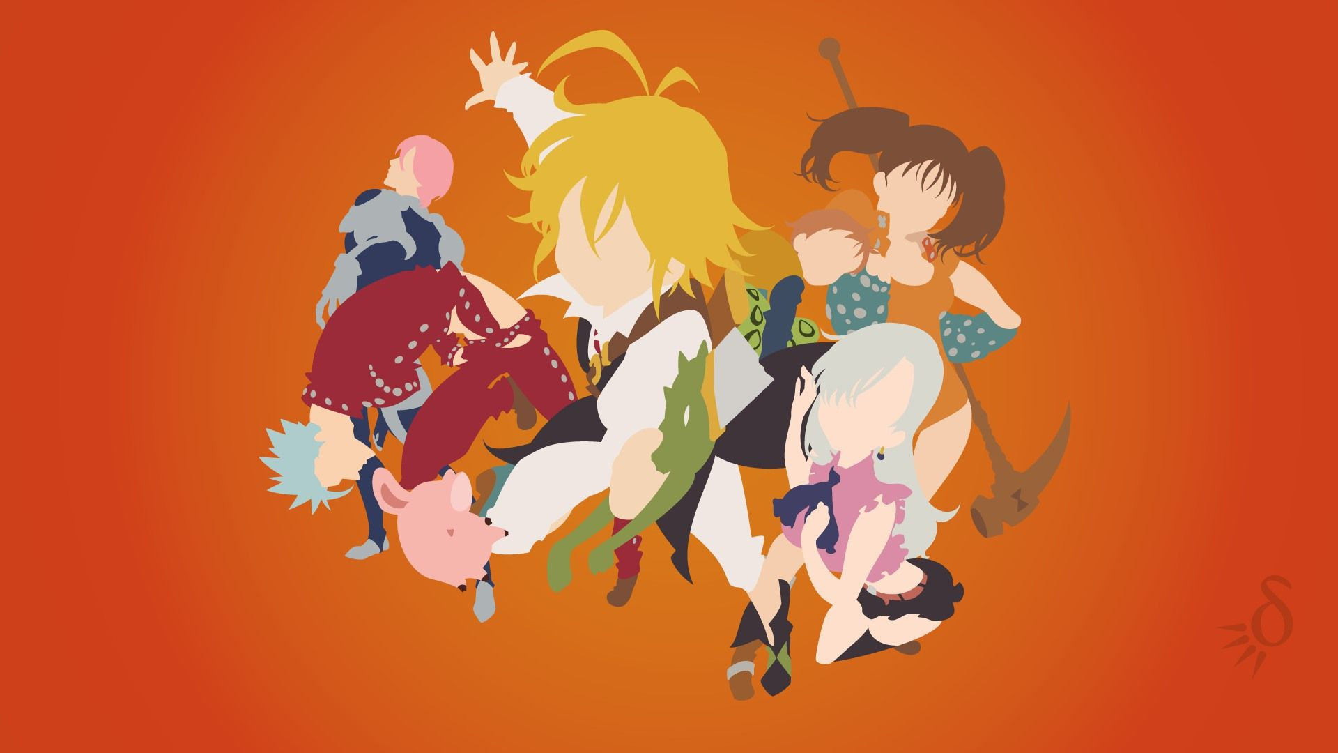 Resultado de imagen para the seven deadly sins wallpaper