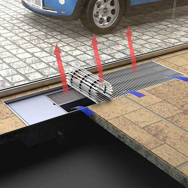 Trench Heating Price Nature Floor Convector Trench Radiators Without Fan Main Feature Length 800 5000mm Width 16 Heating Systems Ventilation System Radiators