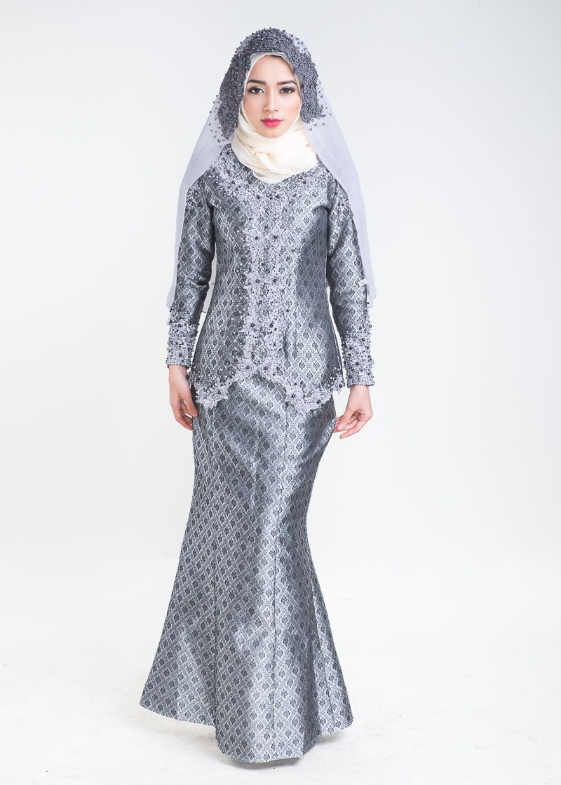 Baju Nikah Grey
