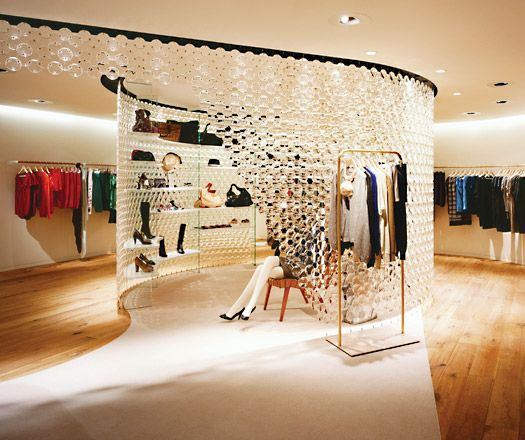 Clothing Store Layout | Precious but easy – Universal Design Studio have taken their ...