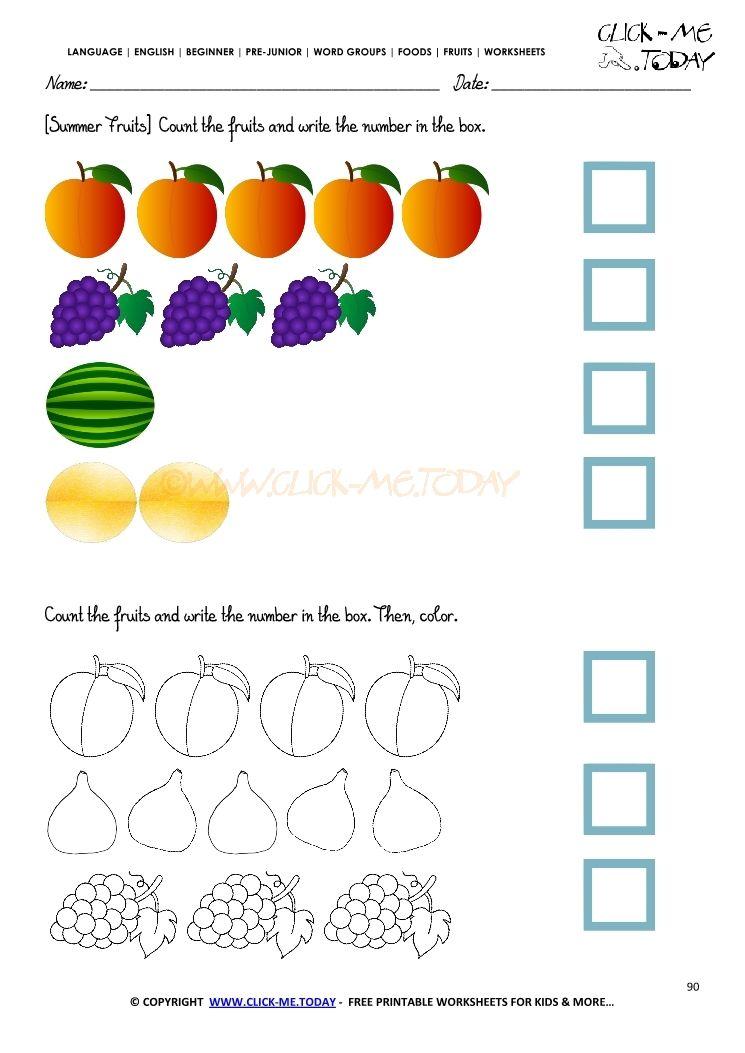 Pin En Free Printable School Worksheets For Kids