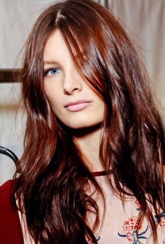 Autumn hair color trends 2017 - http://trend-hairstyles.ru ...
