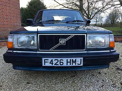 ebay 1988 volvo 240 gl executive in blaugrun blue full history rh pinterest com 1992 Volvo 1981 Volvo