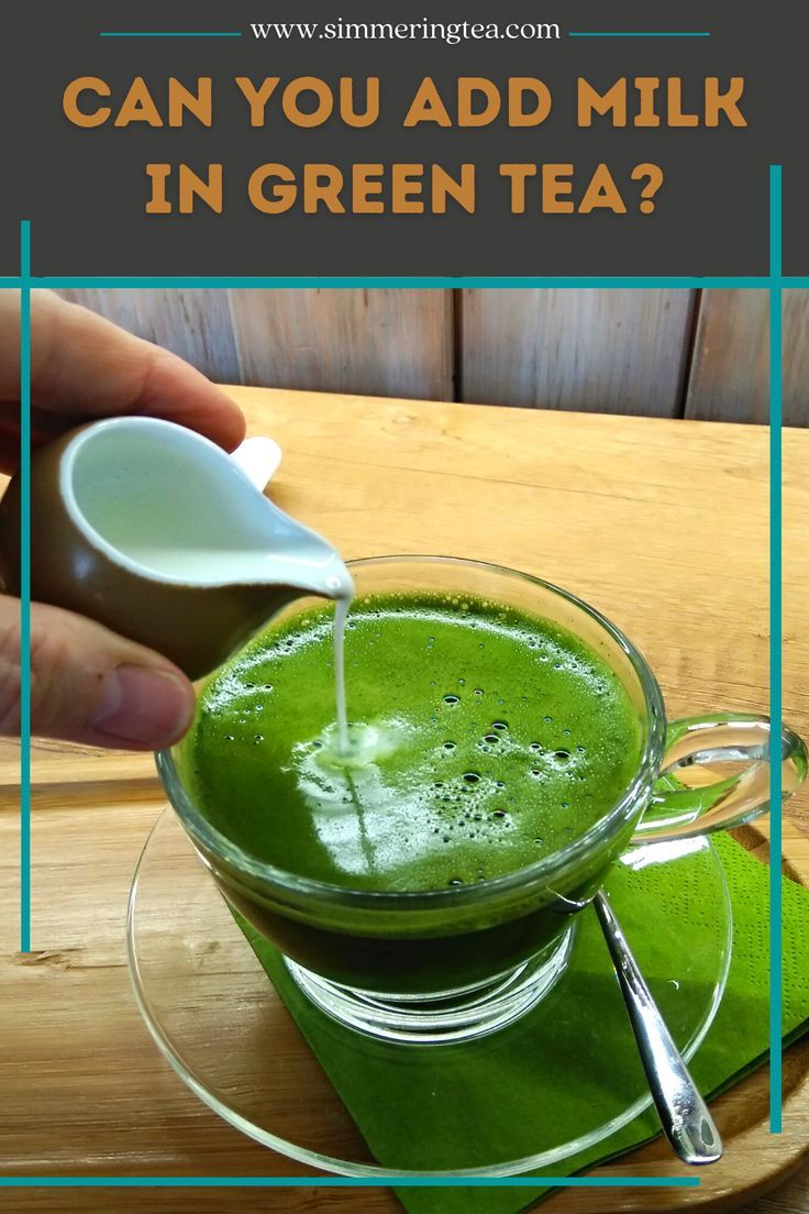 Photo of You searched for green tea with milk | Simmering Tea