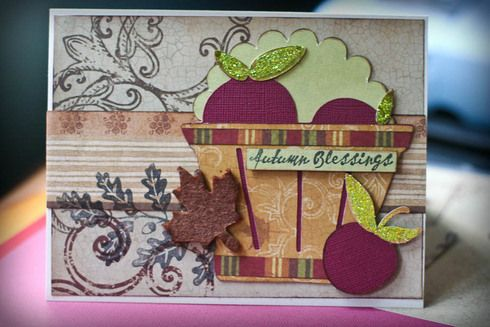 """Autumn Blessings"" - card by Dianedi"