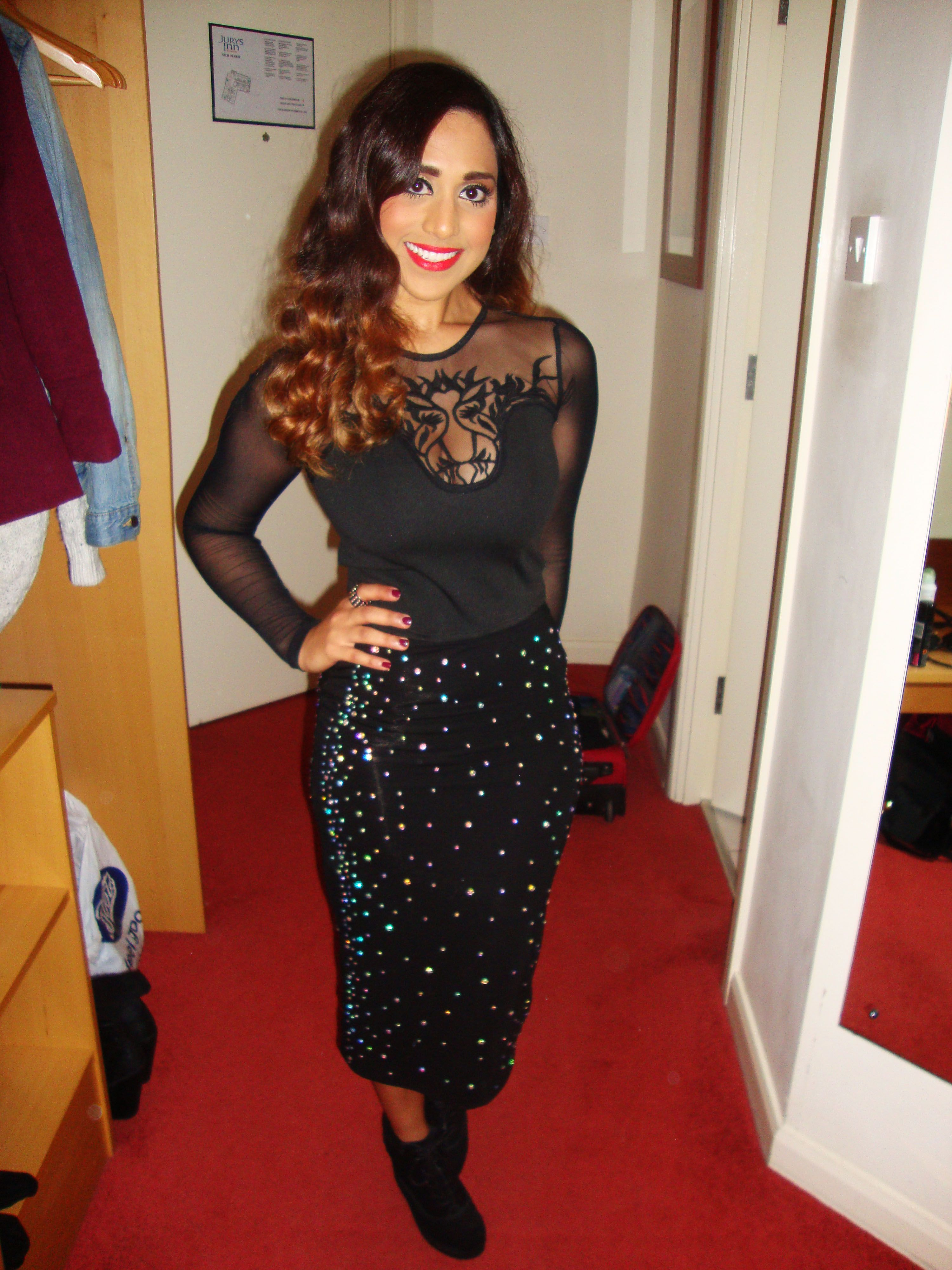 Lace, Sequins and Black