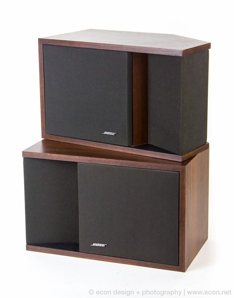 bose bookshelf speakers. mint pair vintage bose 201 series ii stereo bookshelf speakers wood cabinets 60w i