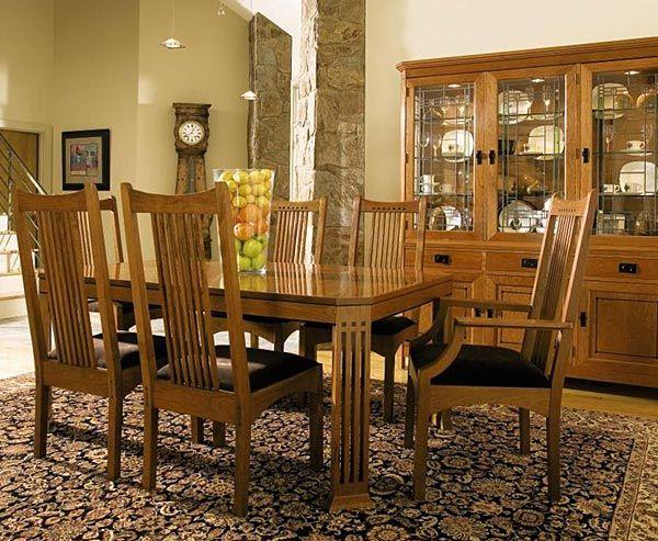 Stickley Mission Dining Room