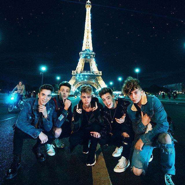 Nous T Aimons Paris In 2019 Why Dont We Band Why Dont We