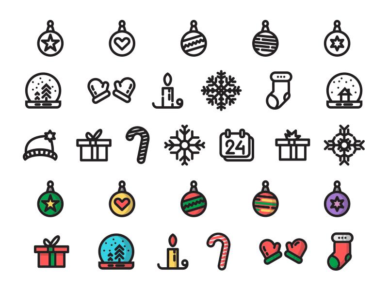 Christmas Time Free Icon Set Christmas Icons Free Icon Set Christmas Vectors