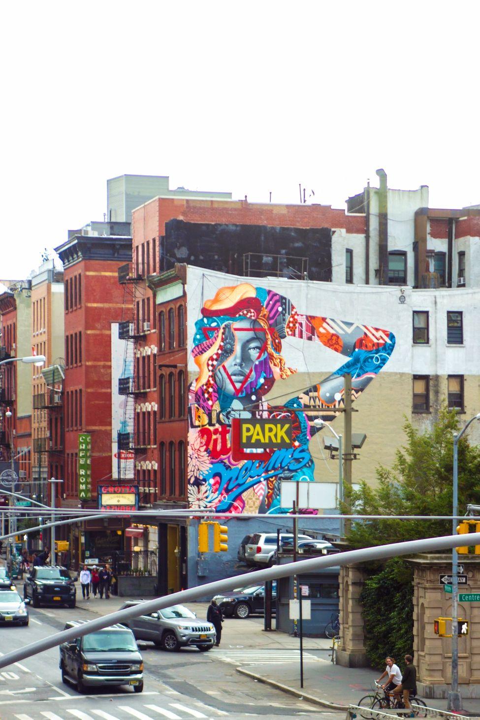 Foto Murales New York.Your Guide To Nyc S Best Murals In Soho Nolita Chinatown