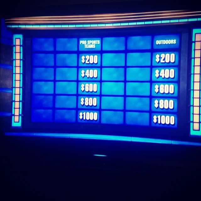 """These are the two categories the contestants (nerds) on """"Teen Jeopardy"""" saved for last."""