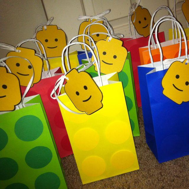 Lego Goody Bags Birthday Bag Party Ideas Animals