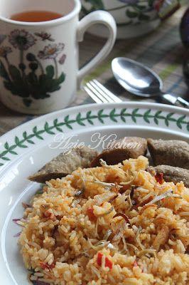 Azie Kitchen Nasi Goreng Sambal Belacan Kak Nyah Nasi