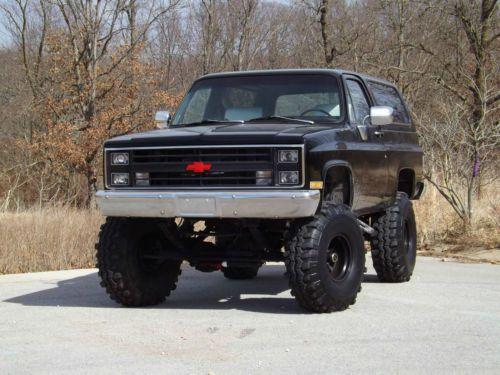 1984 Chevrolet K5 Blazer Silverado Restored Lifted 38s ...