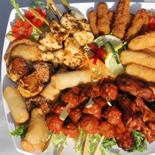 Appetizer Only Wedding Reception: Wedding Reception Food Ideas