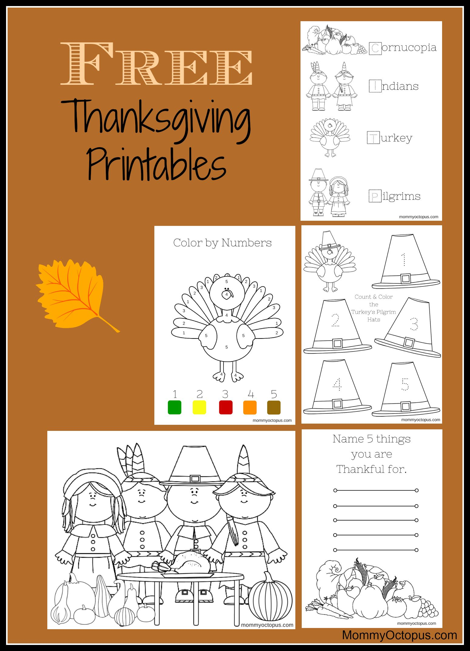 Thanksgiving activity FREE