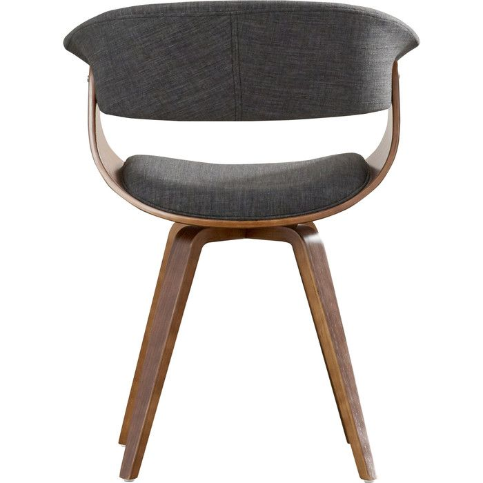 Neil Upholstered Dining Chair (Set of 2) | Barrel chair ...