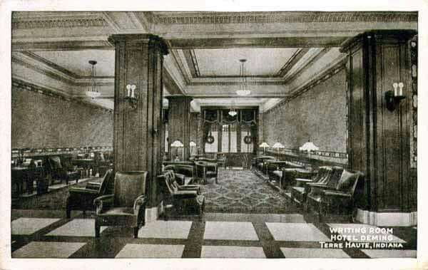 Terre Haute Indiana Deming Hotel