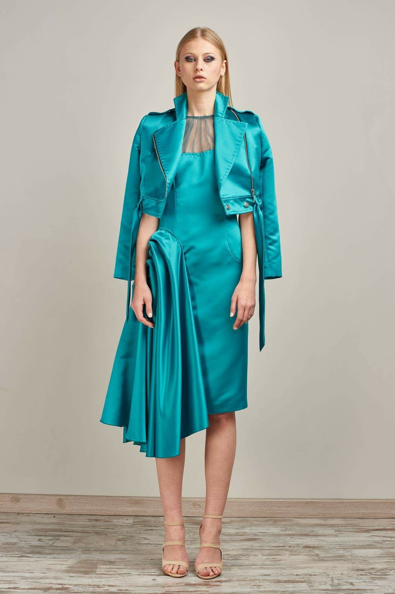 RAFAEL URQUIZAR COUTURE 2018 COLLECTION LOOK 1 #style #lunares ...
