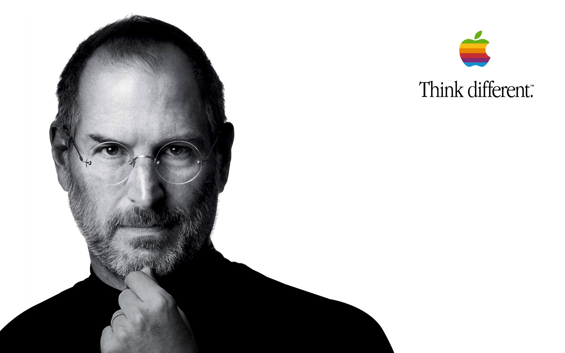 Steve Jobs Think Different By Chrisdata On Deviantart Hd