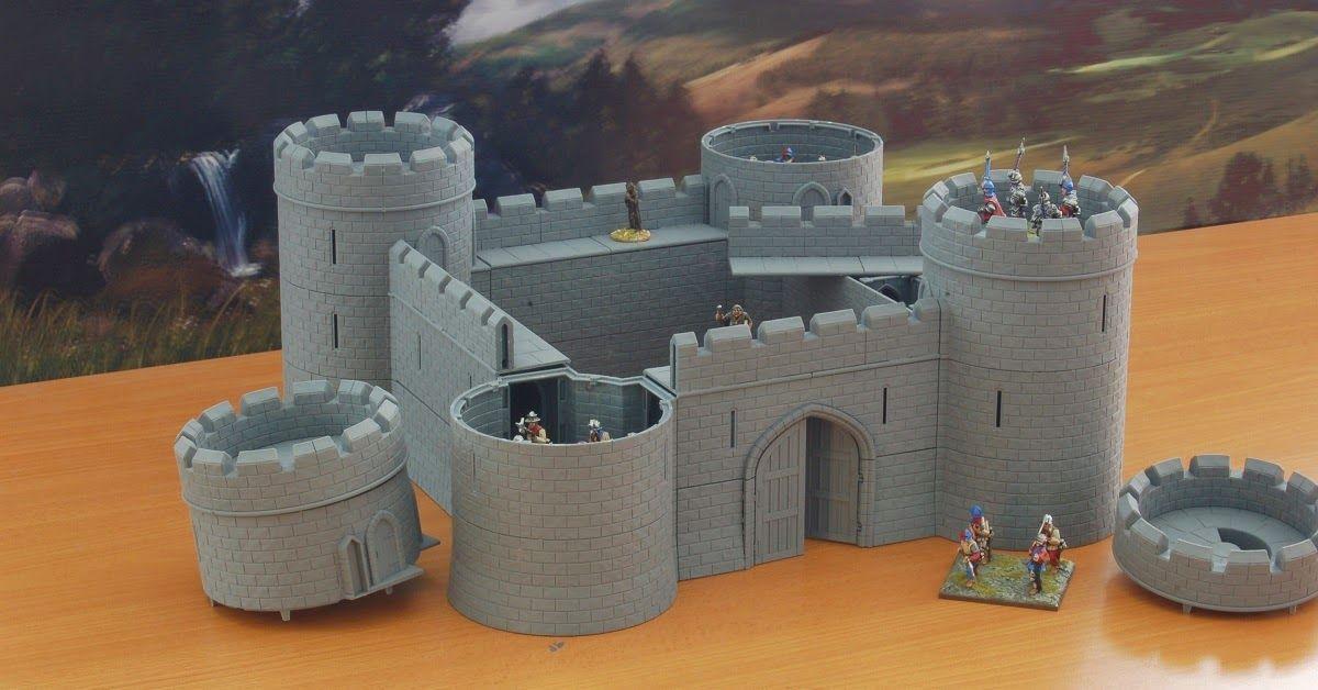Wargame News and Terrain: Tabletop Workshop: Modular Castle