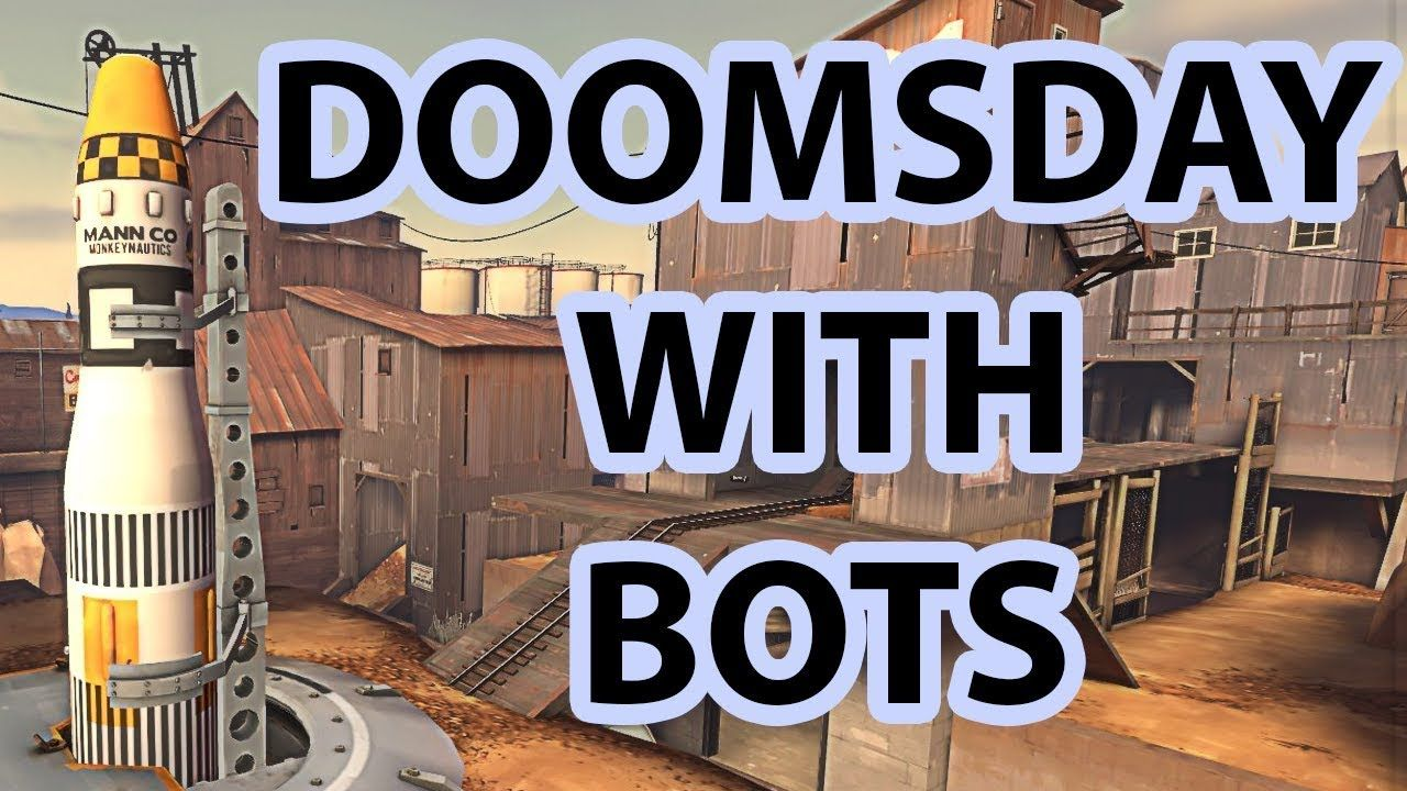 Doomsday With Expert Bots 16v16 #games #teamfortress2 #steam #tf2