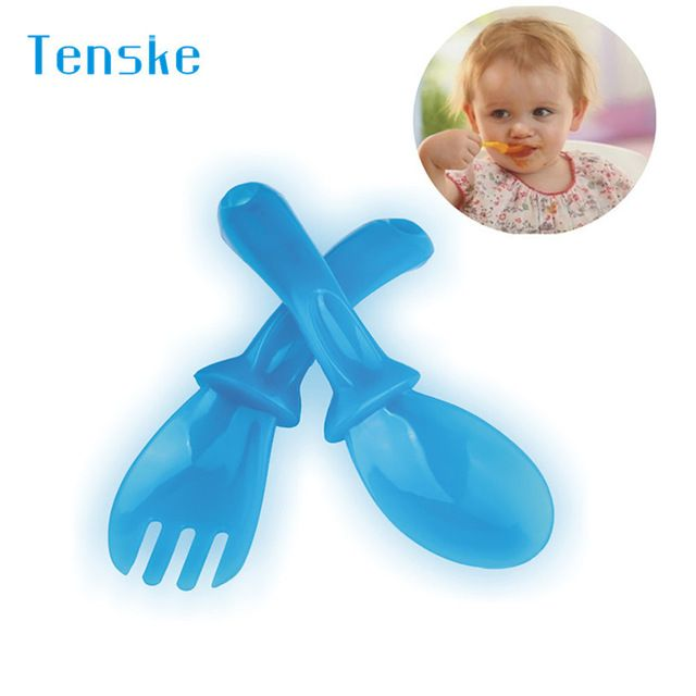 Promotion price tenske Dinnerware Set First Steps Baby Toddler Travel Plastic Cutlery Set In Handy Case u70510 DROP SHIP just only $0.78 with free shipping worldwide  #dinnerware Plese click on picture to see our special price for you