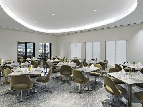 Freds At Barney S New York Has Finally Opened Restaurant Interior Design Bar Interior Design Interior Design