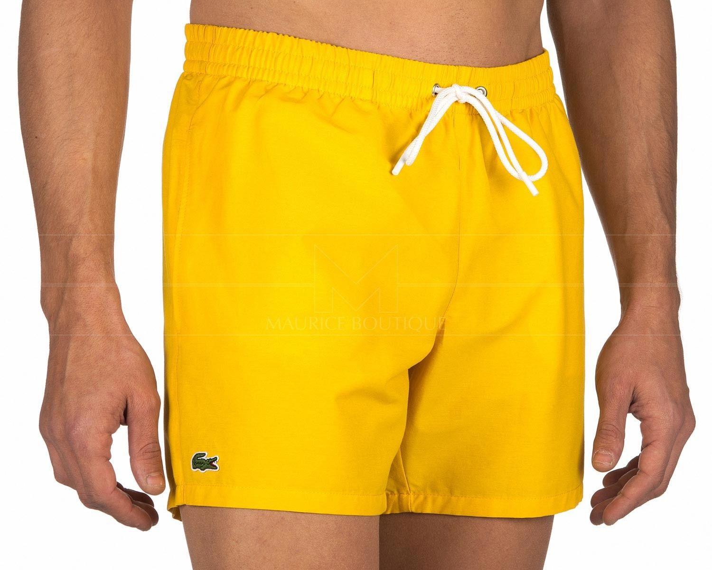 9b6606c5079d Bañador Lacoste Hombre - Amarillo en 2019 | Men's Swimwear | Lacoste ...