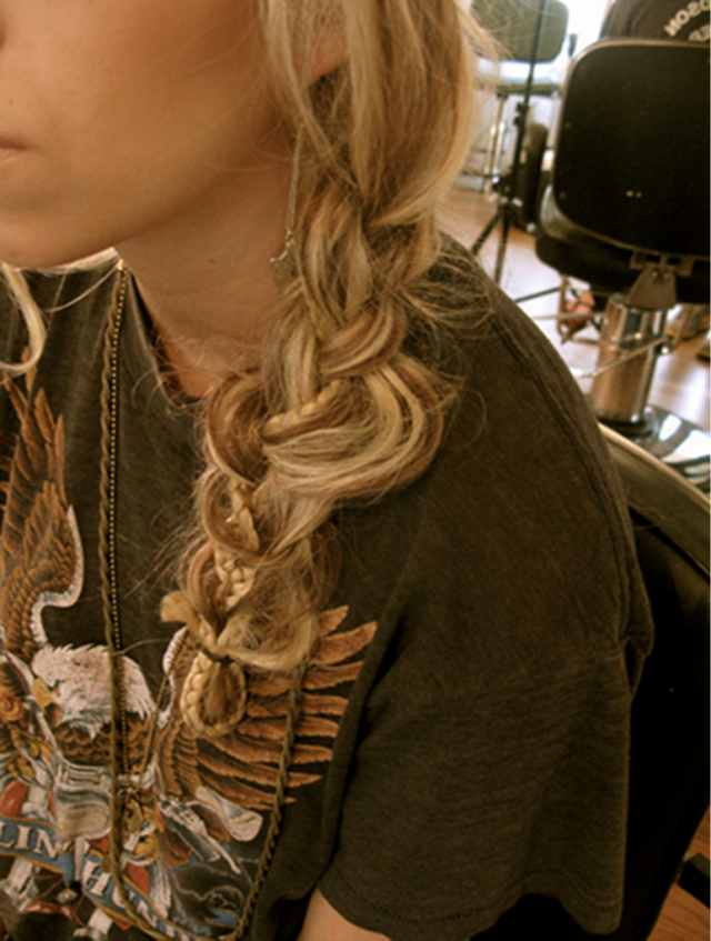 Loose Braided Hairstyles: Numerous Knots