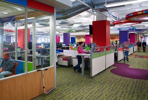 Quicken Loans Office The Qube Detroit Con Imagenes