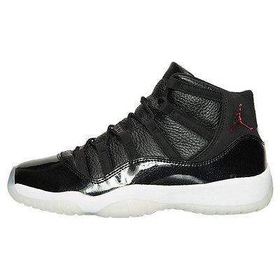 wholesale dealer ec3d4 ee3e5 Nike Air Jordan 11 Retro 72-10 Gs Big Kids 378038-002 Black Shoes