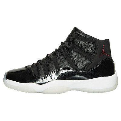 214684bf0b7 Nike Air Jordan 11 Retro 72-10 Gs Big Kids 378038-002 Black Shoes Youth  Size 4.5