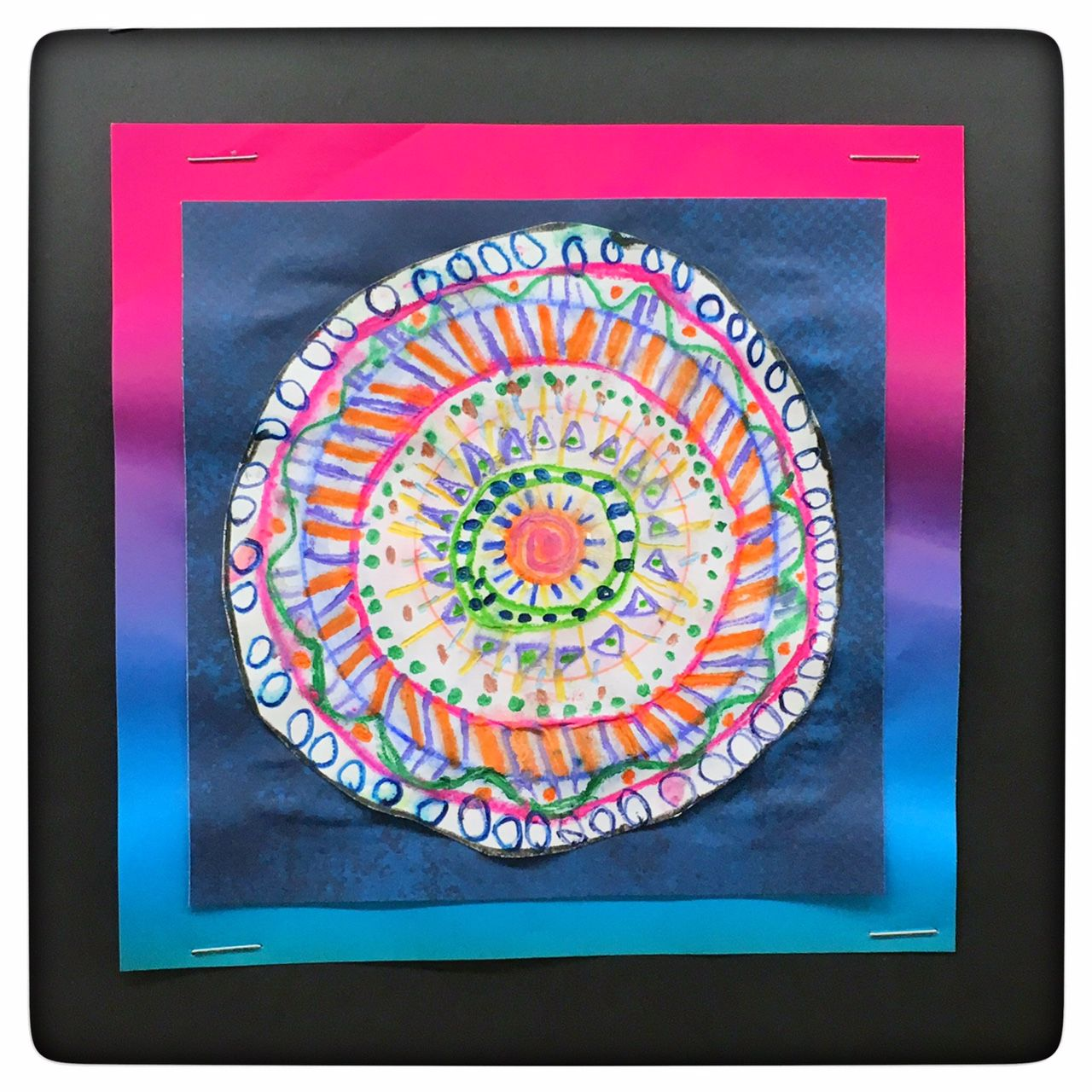 Gr 3 Mandala Watercolor Colored Pencil With Images