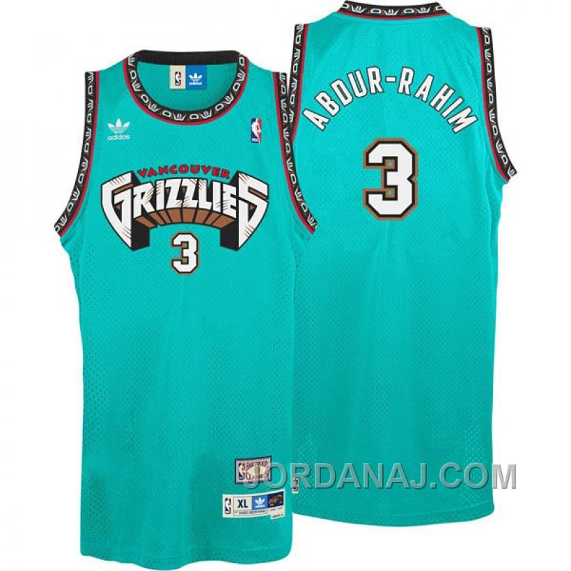 a69f11606 Buy Bryant Reeves Vancouver Grizzlies Big Country Throwback Swingman Cyan  Teal Jersey On Sale from Reliable Bryant Reeves Vancouver Grizzlies Big  Country ...