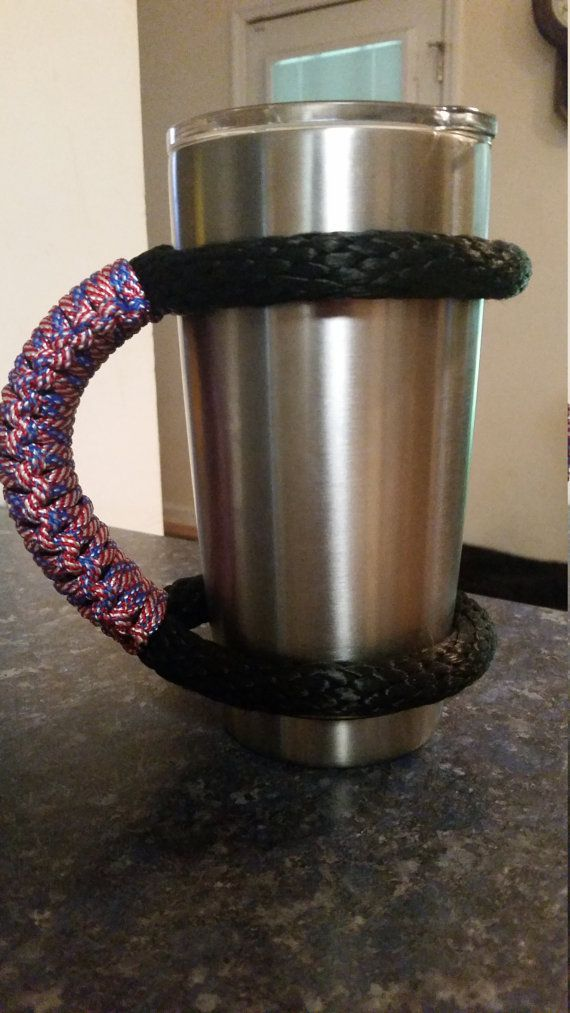 6d9639a4a52 DIY Yeti handle |supplies| ~handle from Tervis Tumbler store ~yeti from  Gander Mtn. ~E600 glue -This is for the 30oz Yeti cup- | Cool ideas | Yeti  decals, ...