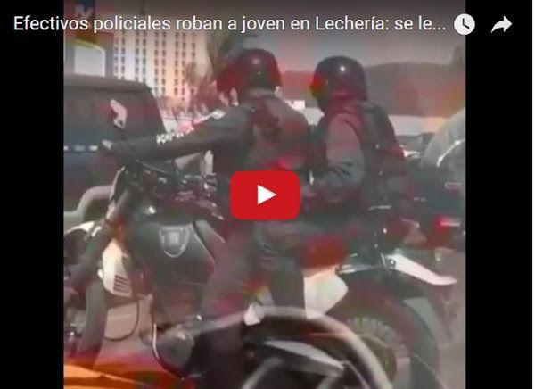 Guardias Nacionales atracaron a otro joven en Lecherías