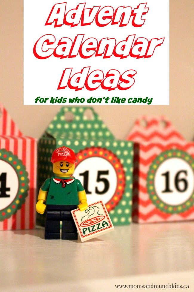 Christmas Calendar Ideas Early Years : Advent calendar ideas for kids who don t like sweets