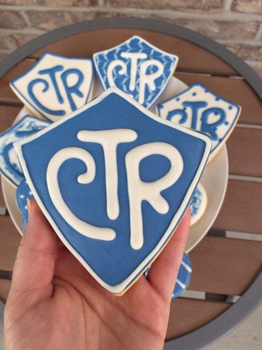 CTR LDS baptism cookies | primaria sud 2017 | Pinterest | Primaria ...