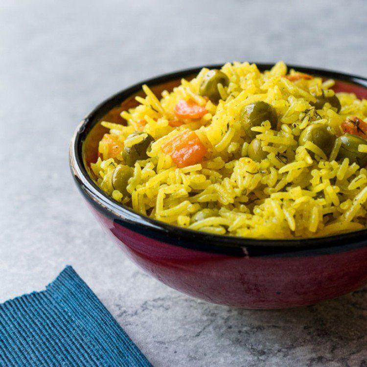 أرز بسمتي بالخضار مطبخ سيدتي Recipe Vegetable Rice Basmati Rice Basmati