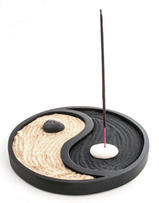 Giardino Zen Yin Yang Nero Amazon.it Casa e cucina