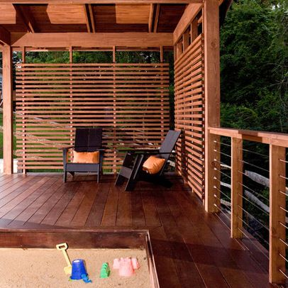 Wood Deck Railing Design Ideas, Pictures, Remodel, and Decor - page