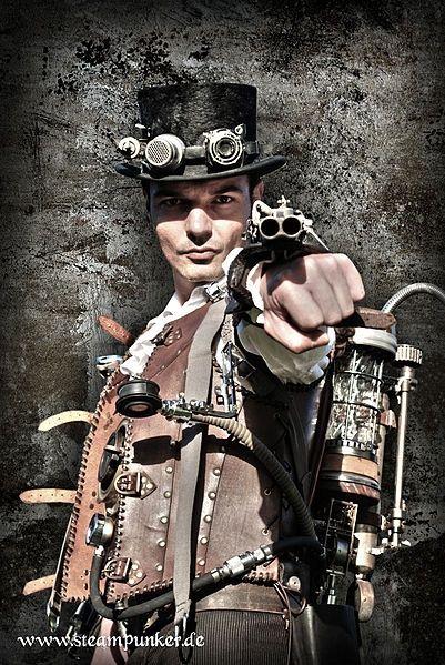 Steampunk weaponeer
