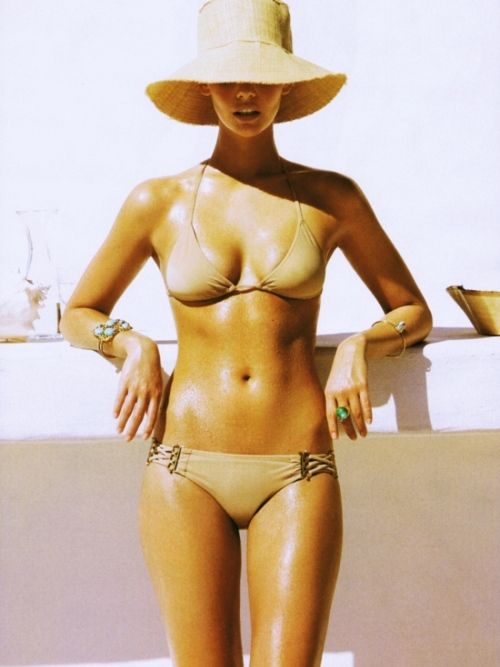 Love a nude bikini